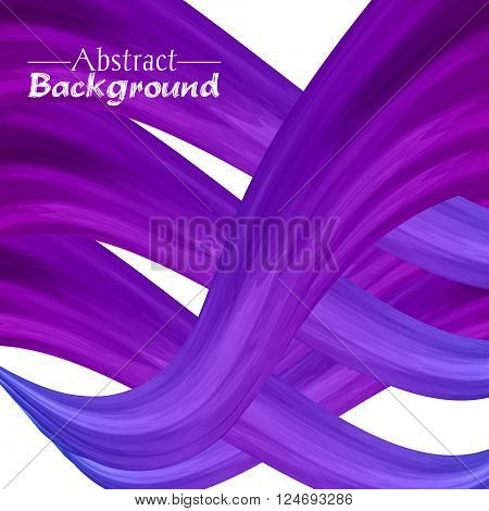 Creative abstract background for your design. Vector illustration. Violet colors