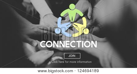 Connection Connect Social Networking Interconnection Concept
