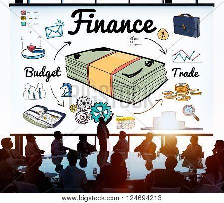 Finance Money Debt Expenditure Trade Concept