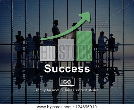 Success Excellence Accomplishment Achievement Concept