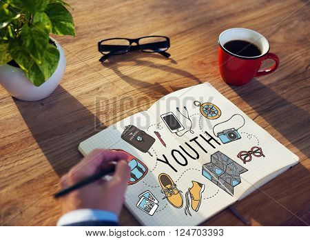 Youth Young Teens Minor Lifestyle Concept