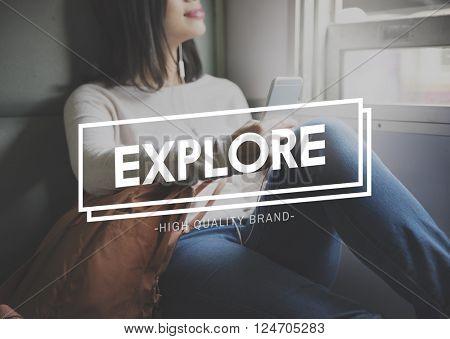 Explore Exploration Leisure Travel Concept