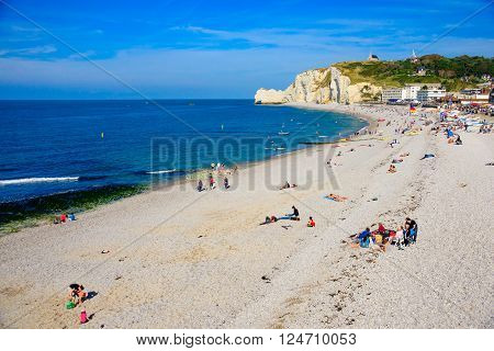 Fecamp Beach Scene