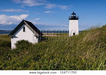 Long Point Light is a 3-mile sandy hike from Provincetown, in Massachusetts.