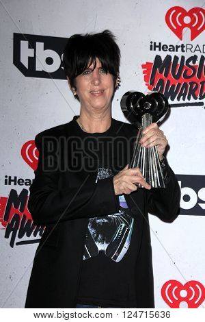LOS ANGELES - APR 3:  Diane Warren at the iHeart Radio Music Awards 2016 Press Room at the The Forum on April 3, 2016 in Inglewood, CA