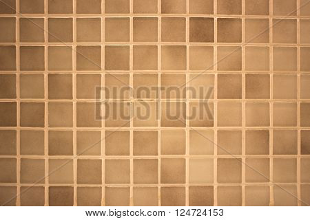 Small Colored Square Tiles, Decorative Mosaic
