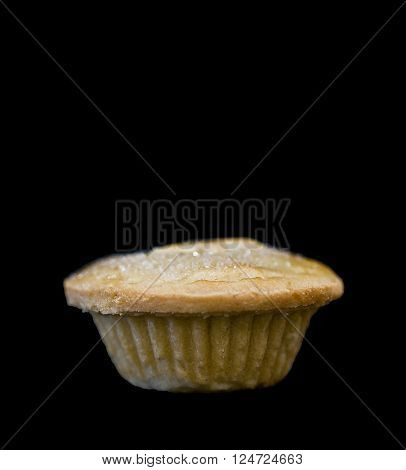 Mince Pie on black