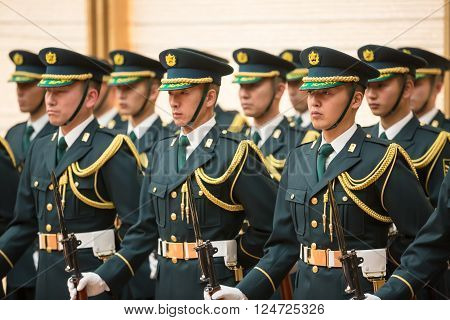 Guard Of Honor In Tokio