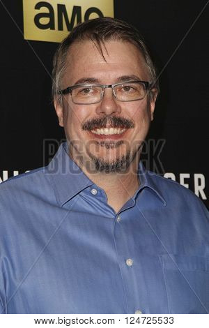 LOS ANGELES - APR 5:  Vince Gilligan at the The Night Manager AMC Premiere Screening at the Directors Guild of America on April 5, 2016 in Los Angeles, CA