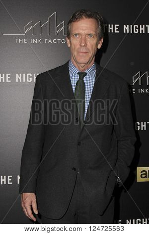 LOS ANGELES - APR 5:  Hugh Laurie at the The Night Manager AMC Premiere Screening at the Directors Guild of America on April 5, 2016 in Los Angeles, CA