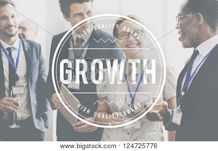 Growth Career Success Personal Development Concept