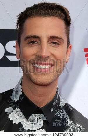 LOS ANGELES - APR 3:  Nick Fradiani at the iHeart Radio Music Awards 2016 Arrivals at the The Forum on April 3, 2016 in Inglewood, CA