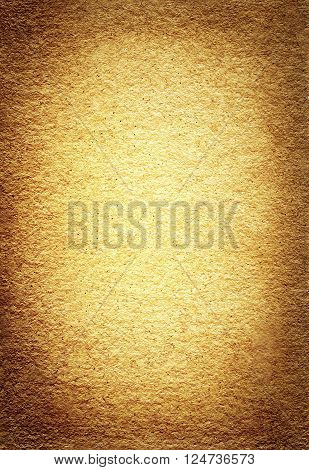 Seamless brown old paper background with vignette