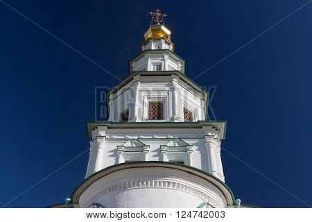 New Jerusalem Monastery tower in Moscow region