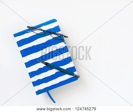 Blue-striped Journal