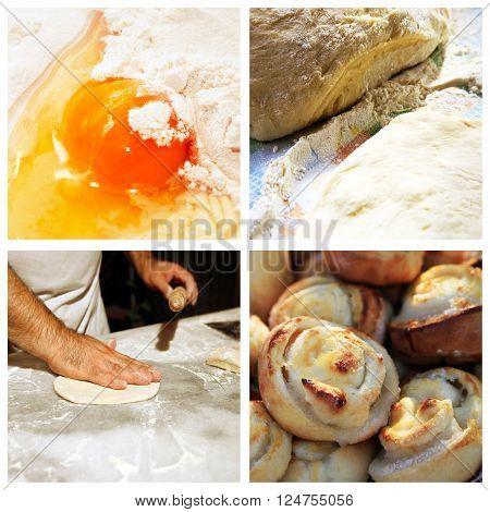 Collage Prepared Pies