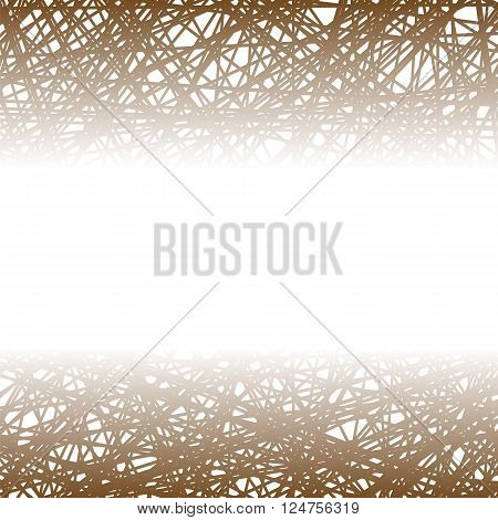 Abstract Brown Line Background. Grunge Brown Line Pattern