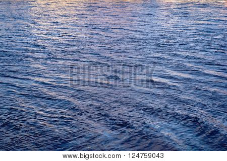 nearly rose quartz and serenity color river water for natural background