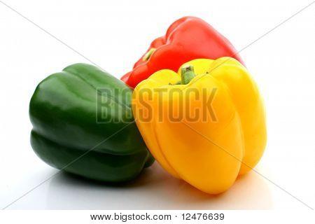 clolored paprika