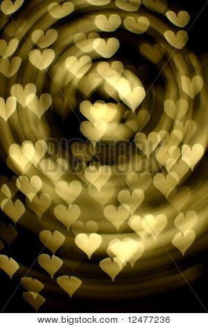 Bokeh-Herzen