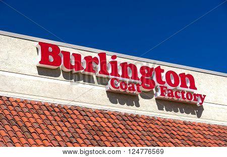 Burlington Coat Factory Warehouse Corporation Exterior And Logo
