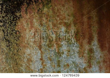 rusty grunge old metal background and texture