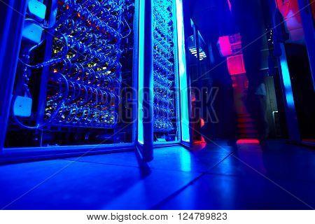 Supercomputer storage