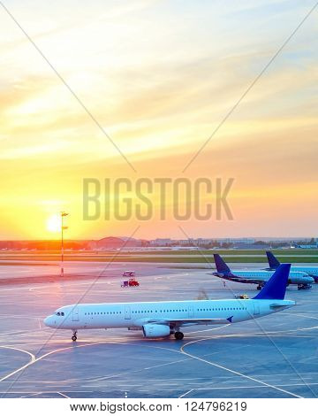 Airplanes At Airport