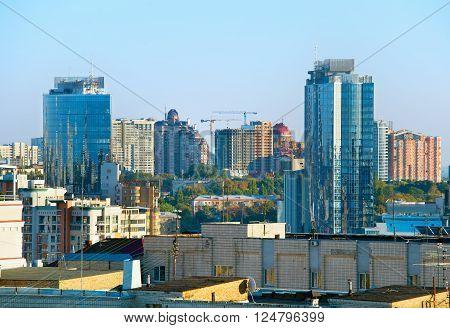 Kiev Downtown Architecture
