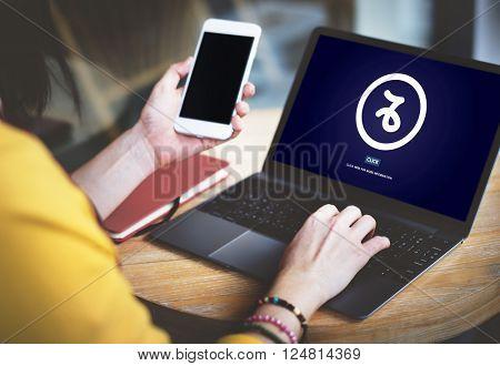 Technology Uploading Internet Online Media Concept