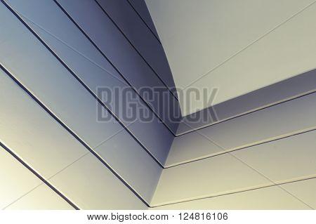 Abstract Interior Fragment With Dark Corner