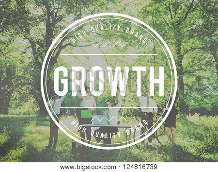 Business Growth Improvement Development Increase Concept