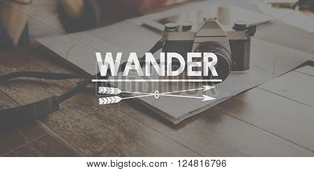 Wander Traveling Adventure Journey Vacation Concept