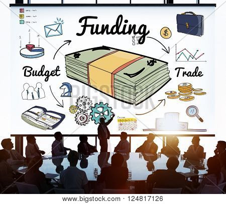 Funding Banking Budget Credit Financial Concept
