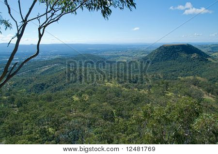Forests And Hills At Toowoomba