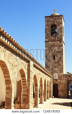 Historic St. Barnabas Church in Cyprus near Famagusta.