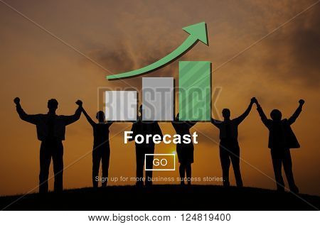 Forecast Strategy Foresee Plan Future Concept