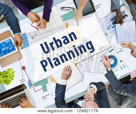 Urban Planning Development Build Design Concept