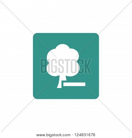 Ecology Icon In Vector Format. Premium Quality Ecology Icon. Web Graphic Ecology Icon Sign On Green