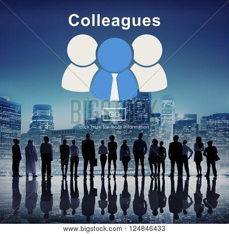 Colleagues Alliance Collaboration Partnership Team Concept