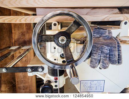 Control Wheel Of Woodworking Machine