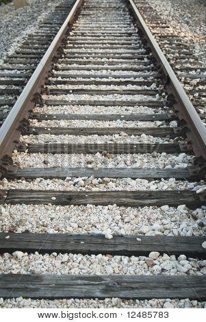 Receding Train Tracks