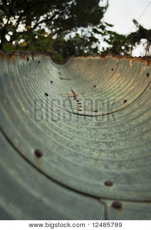 Corrugated Trough