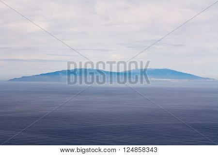 El Hierro Viewed From Gomera
