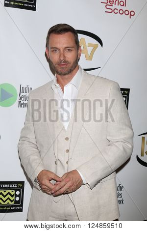 LOS ANGELES - APR 6:  Eric Martsolf at the 7th Annual Indie Series Awards at the El Portal Theater on April 6, 2016 in North Hollywood, CA