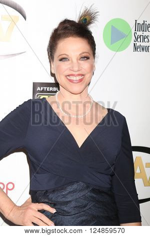 LOS ANGELES - APR 6:  Kathleen Gati at the 7th Annual Indie Series Awards at the El Portal Theater on April 6, 2016 in North Hollywood, CA
