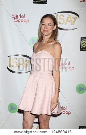 LOS ANGELES - APR 6:  Taylor Stanley at the 7th Annual Indie Series Awards at the El Portal Theater on April 6, 2016 in North Hollywood, CA