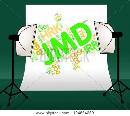Jmd Currency Means Jamaican Dollars And Exchange