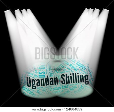 Ugandan Shilling Indicates Exchange Rate And Broker
