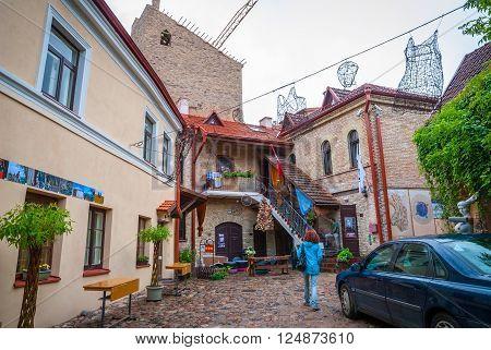 Uzupis Republic, Autonomous Community, Vilnius, Lithuania